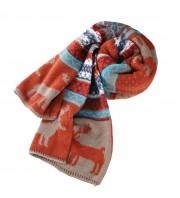 Новогодний шарф