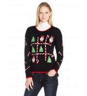 Новогодний свитер с мигающими огоньками
