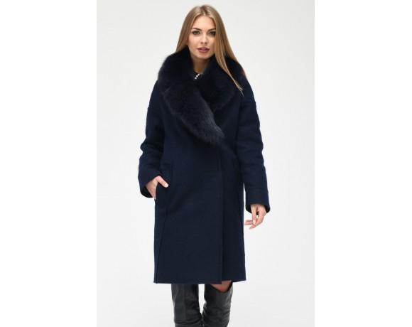 Зимнее Пальто X-Woyz PL-8814-2 синий 87be57f018012